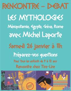 Rencontre Michel Laporte 26-01-13