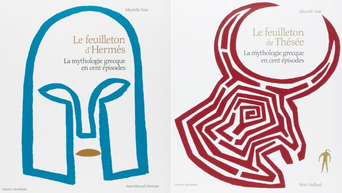 Feuilleton d'Hermès et Feuilleton de Thésée