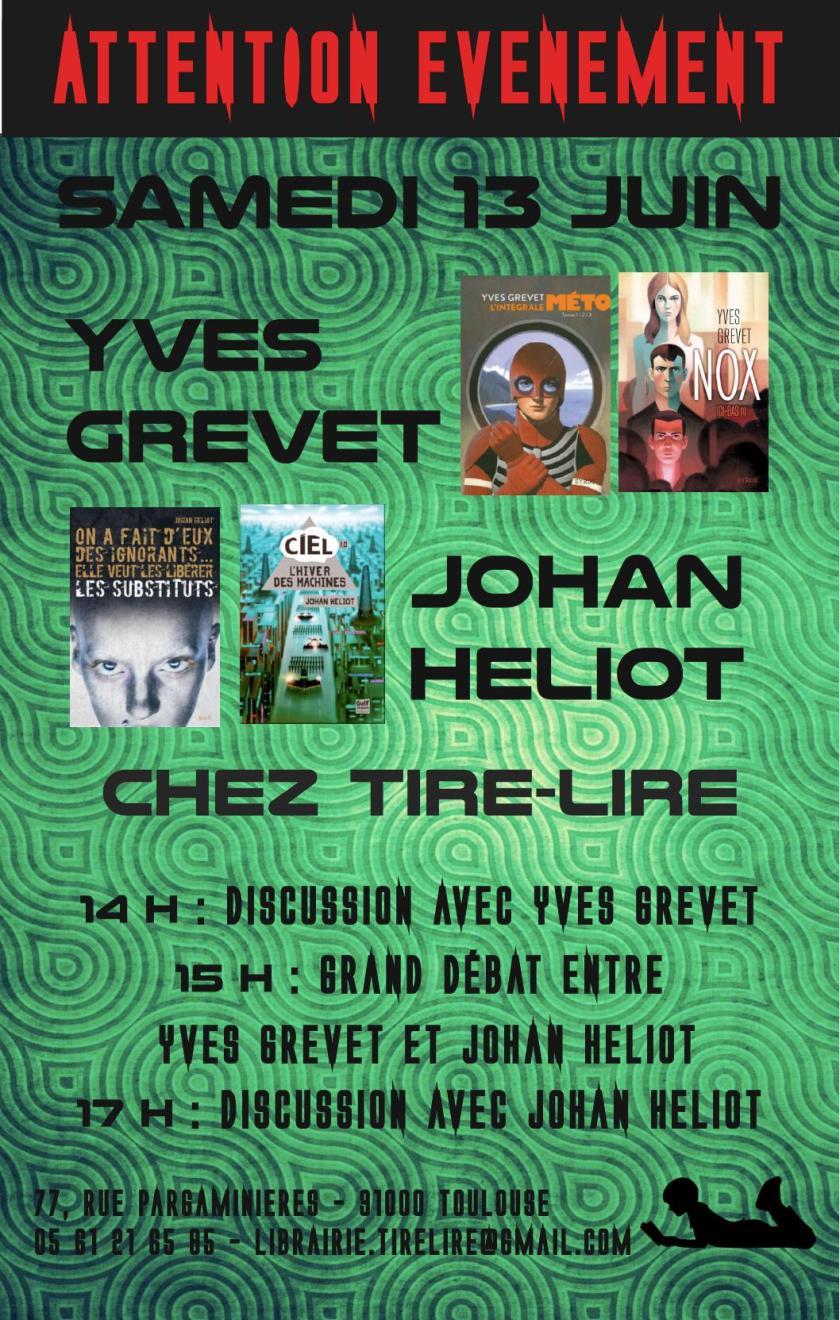 Rencontre Grevet Heliot - 13 juin 2015