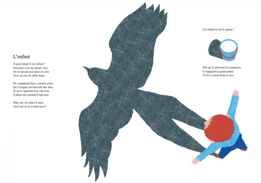 L'enfant La poésie est un jeu d'enfant - Carême - Gibert