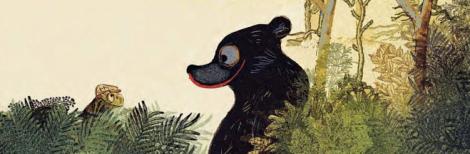 L'ours qui n'était pas là Lavie et Erlbruch
