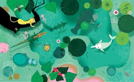 Le livre de la jungle très jungle - Josef Anton et Lucie Brunellière 1