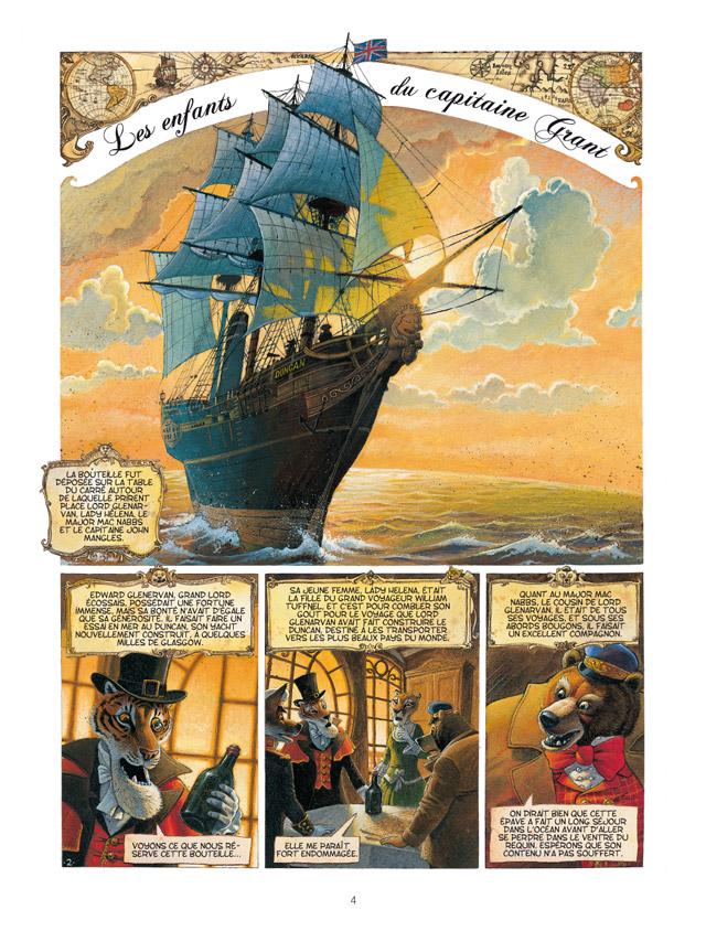 Les enfants du capitaine Grant - Verne et Nesme 2