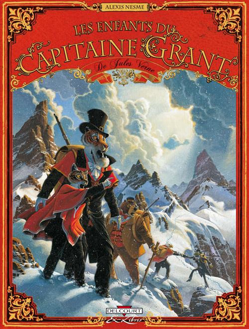 Les enfants du capitaine Grant - Verne et Nesme