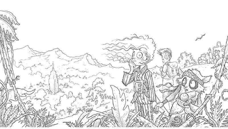 Les improbables aventures de Mabel Jones - Will Mabbit, Ross Collins
